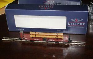 Liliput HOe log wagons L240105