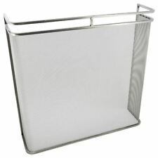 Stainless Steel Double Rail Fire Guard