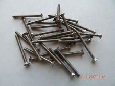 """STAINLESS STEEL FLAT HEAD SLOTTED MACHINE SCREW 6/32 x 1 1/2""""  18-8  25 PCS. NEW"""