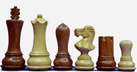"""Best Wooden Weighted Chess set 34 PCs 2 Qns extra Empire Design king height 3"""""""