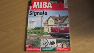 MIBA SPEZIAL 130 - SIGNALE - AUSWAHL/TECHIK/PRAXIS - TOP