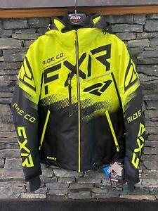 FXR Black/Hi Vis Boost FX Jacket
