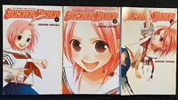 Sumomomo, Momomo 1, 2, 3 Manga Action Fantasy Yen Press Graphic Novel