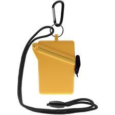 Witz Surfsafe Lightweight Waterproof Sport Case w/ Lanyard & Carabiner - Yellow