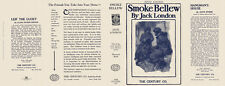 Jack London SMOKE BELLEW facsimile dust jacket for 5th edition book