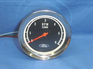 Vintage NOS Ford 6K Tachometer CT29
