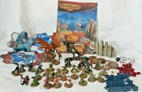 Heroscape Rise of Valkyrie Army Cards. Combat Dice Ruin Granade Glyphs Figures