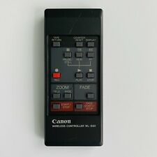Canon Genuine Camcorder Remote Control WL-E80 WL-E80EXP OEM  Tested and works