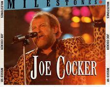CD JOE COCKER milestones EX 2CD (A0859)