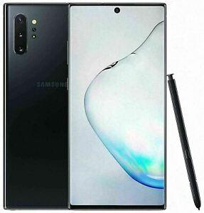 Brand New Samsung Galaxy Note 10 Plus 256GB Aura Black Unlocked Smart Phone