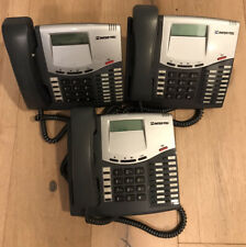 LOT OF 3 Inter-Tel 550.8520 Mitel LCD  Display Business Telephone 8520