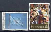 19238) United Nations (New York) 1991 MNH Definitives 2v