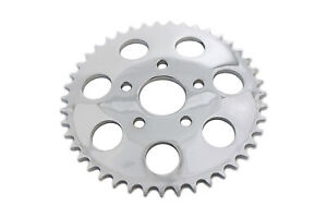Chrome 43 Tooth Rear Sprocket for Harley Davidson by V-Twin