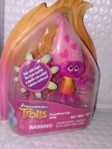 """DreamWorks TROLLS MOXIE 4"""" Mini Doll Figure pic 1"""