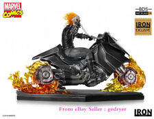 IRON Studios  Marvel 1/10  Scale Ghost Rider Figure  Model  Instock PVC