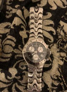 Ebel Sportwave Chronograph Swiss made Watch E9251641 Beautiful