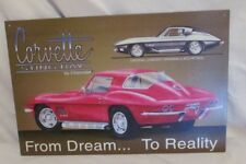 Metal Tin Sign Corvette Sting Ray Pub Home Vintage Retro Poster Cafe ART