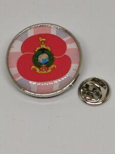 Royal Marines Poppy Military lapel  Badge / Key Ring  / Fridge Magnet