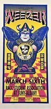 Weezer Concert Handbill Artist Mark Arminski Skull