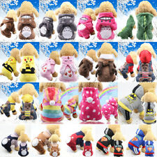 New Winter Pets Cat Dog Clothes Warm Hoodie Coat Jacket Clothing For Dogs Cat
