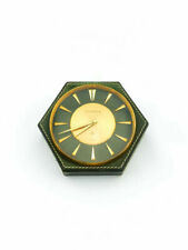 Hermés Jaeger LeCoultre Mid Century Desk Clock (Appears never opened)