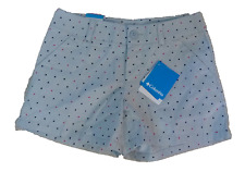 Womens Columbia Sunset Hill printed dots color light blue , NWT