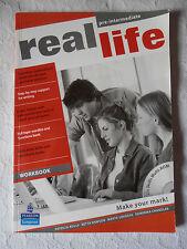 REAL LIFE WORKBOOK PRE- INTERMEDIATE ENGLISH & CD ROM STUDIO GRAMMATICA INGLESE