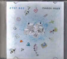 Stef Bos-Minder Meer Promo cd single