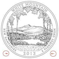 2013 P & D QUARTER BU WHITE MOUNTAIN New Hampshire ATB NATIONAL FOREST PARK SETs