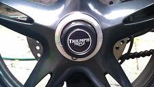 TRIUMPH Speed Triple Daytona Sprint 1050 955 T595 Eje Rueda Eje desagües Enchufes