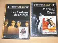 LOT 2 DVD COMEDIE MUSICALE / MARIAGE ROYAL + LES 7 VOLEURS DE CHICAGO / NEUFS