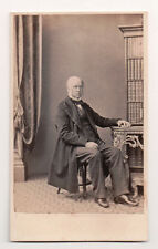 Vintage CDV Very Severe looking English Man T. S. Redman Photo London
