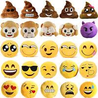 Neu Emoji Smiley Emoticon Kissen-Kissen füllte Plüsch Puppe Plüschtier Spielzeug