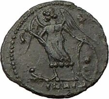 CONSTANTINE I the Great founs CONSTANTINOPLE Ancient Roman Coin i22203