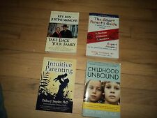 4 Parenting Books Smart Parents Guide Dr Oz Intuitive Parenting Childhood Kids