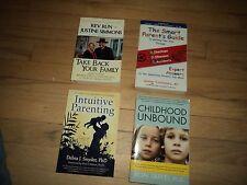 4 Parenting Books Smart Parents Guide Dr Oz Intuitive Parenting Childhood Kids