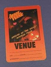 April Wine Original Backstage Pass Nature of the Beast World Tour - Unused !