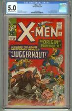 X-MEN # 12 CGC 5.0 FIRST JUGGERNAUT 1965