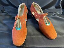 Vintage Roger Vivier Suede Shoes