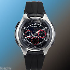 Casio AQ163W-1B2 Men's Analog Digital WATCH World Time Yacht Timer 5 Alarms New