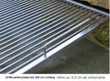 Edelstahl Grillrost Griffe - seitlich/oben - Maßanfertigung INOX Grill Barbecue