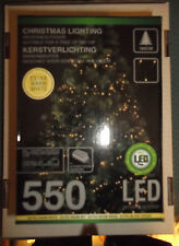 LED Lichterkette mit 550 warmweißen LED's  8 Programme