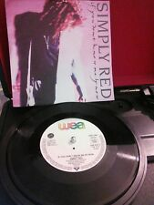 """Simply Red – If You Don't Know Me By Now Vinyl 7"""" Single UK YZ 377 1989"""