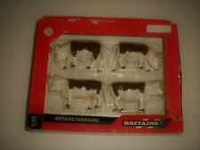 Set of 4 x Hereford Bull Cows Cattle  Boxed un-used  1.32 Britains Farmyard