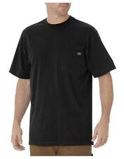 BRAND NEW! 3 pcs Men's Dickies® Short Sleeve POCKET T-SHIRT Tee Cotton M BLACK
