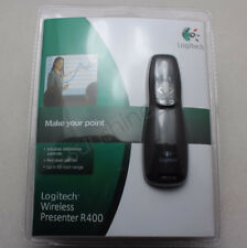 Logitech R400 Wireless Professional Presenter w/Red Laser Pointer Slideshow