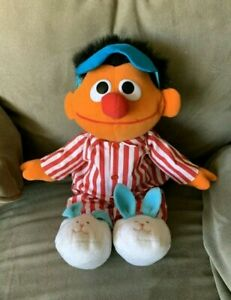 Sesame Street Sleeping and Snoring Ernie (used, partially working)
