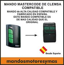 T-MANDO DE GARAJE COMPATIBLE CLEMSA MASTERCODE MV-1 MV-12 MV-123 MV1 MV12