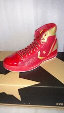 NEW/RARE Converse Star Player EVO Mid Red /Gold (121434)  size 10