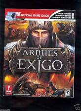 Armies of Exigo : Prima Official Game Guide by Prima Temp Authors Staff and M...